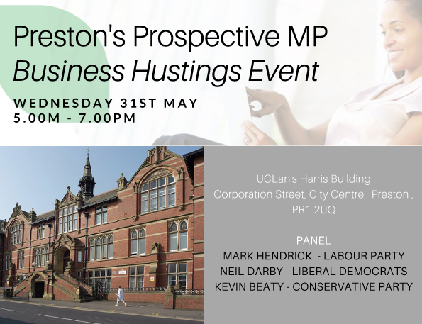 MEET AND QUESTION PRESTON'S PARLIAMENTARY CANDIDATES