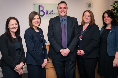 Five senior promotions at Birchall Blackburn Law