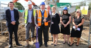 Mayor of Preston visit to CGA Savick site