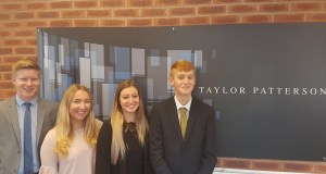 Four New Apprentices Join Taylor Patterson