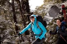 Women's sport apparel by Icebreaker from New Zealand
