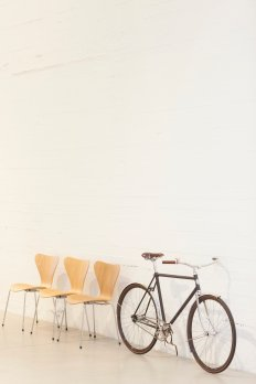 Fritz Hansen Velorbis bicycle 'Arrow Seven 60