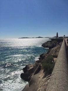 Marseille sea front.