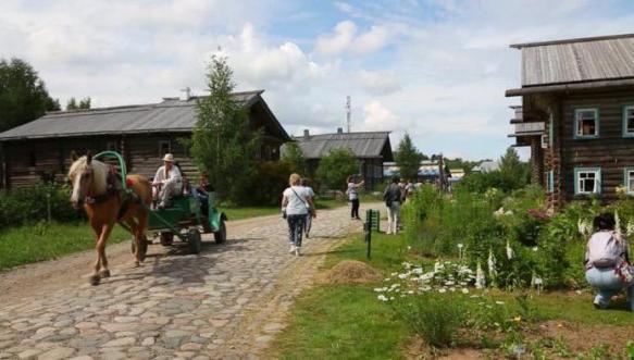 Сельский туризм в действии.
