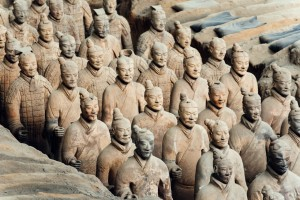 Terracotta Army in Xian, China. Credit: Nikada