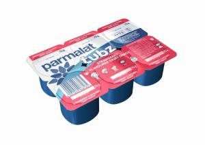 Image: Parmalat's new format 6 x 75g flavoured dairy snack, Parmalat tubz, is ideal for inclusion in lunchboxes.It is available in two exciting flavours - Strawberry and Banana Custard