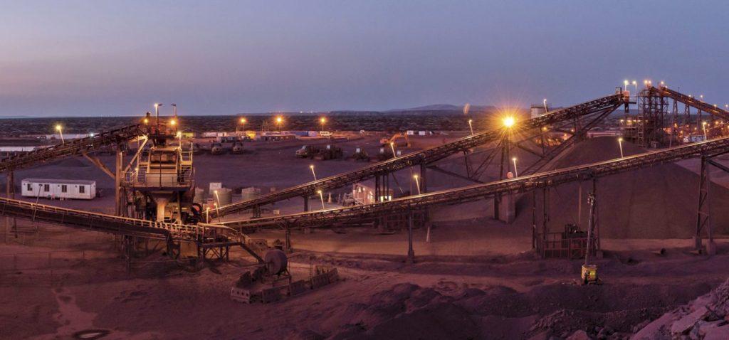 Image: DMS plant Kolomela mine