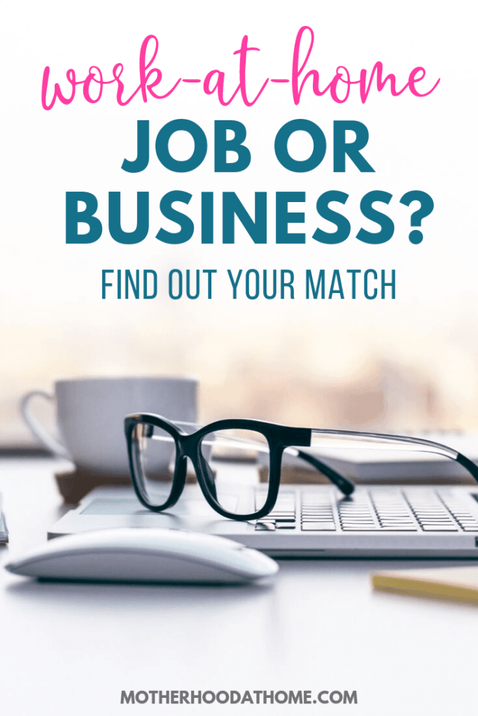 work at home job or business