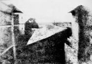 View from the Window at Le Gras by Joseph Niépce 1826 or 1827