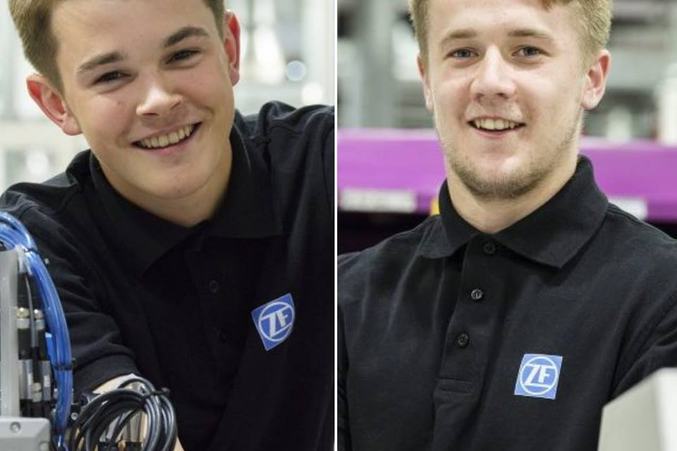 Apprentices secure permanent contracts at Peterlee's ZF