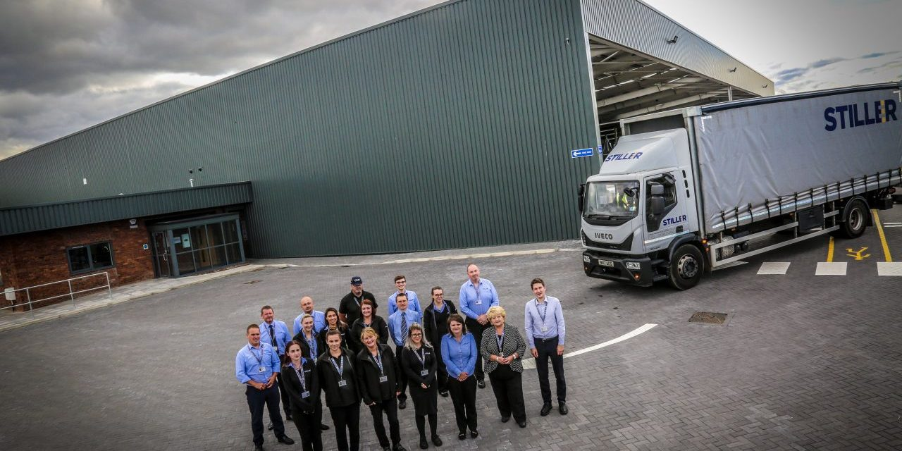 Stiller opens new £2m distribution centre