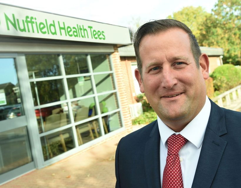 Nuffield Health Tees Hospital appoints new business development manager