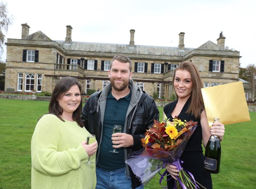 Kirkley Hall wedding day winners are floating on cloud nine