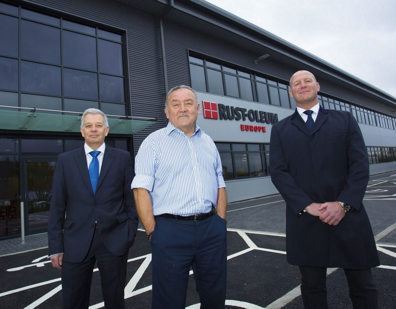 Coatings firm expands operations with new storage and distribution base