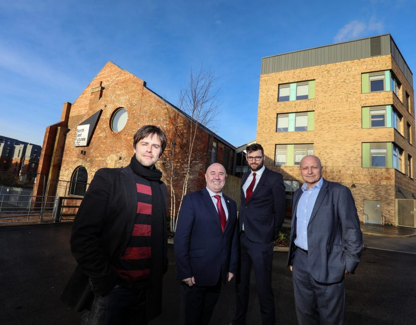 Urban regeneration company delivers visionary educational campus