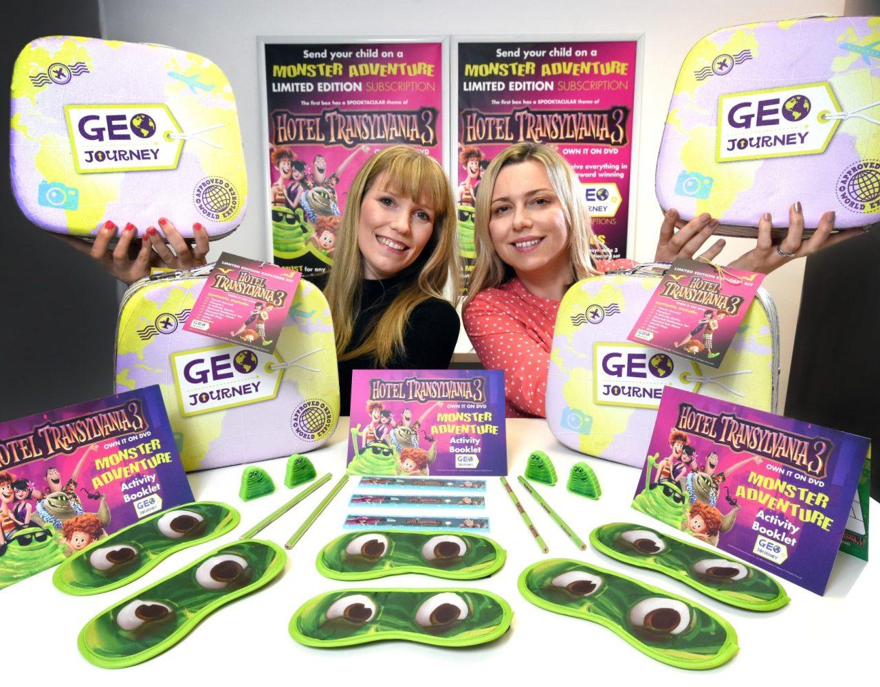 Sunderland's Geo Journey celebrates the DVD release of Hotel Transylvania 3