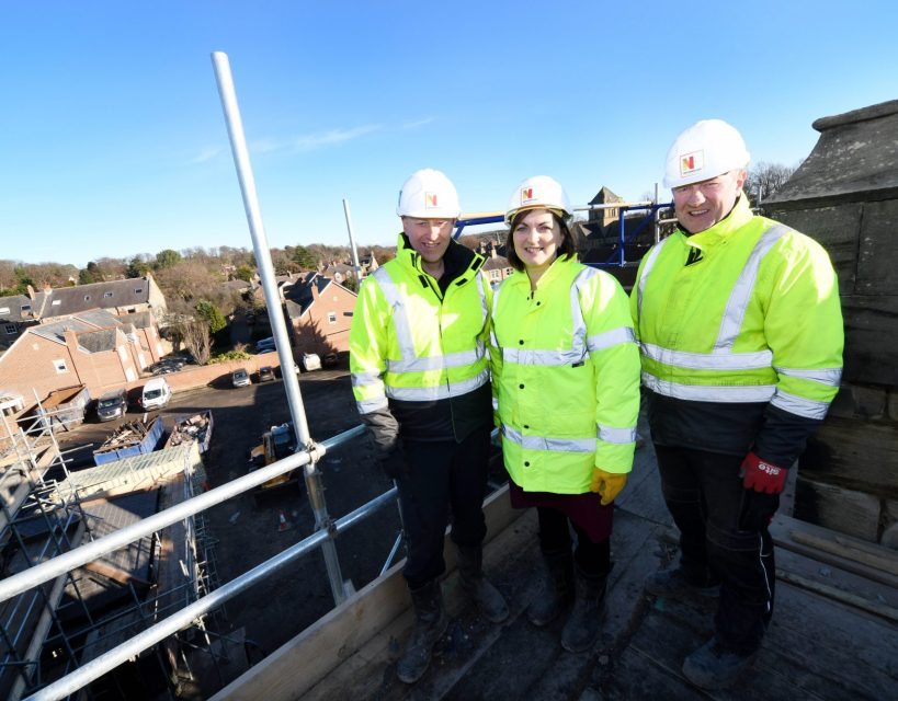 £3m conversion of Northumberland Grade Two-listed building set to launch