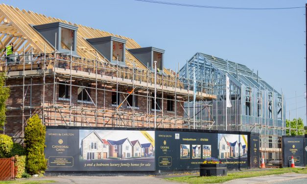 Innovative modular house type being trialled in County Durham