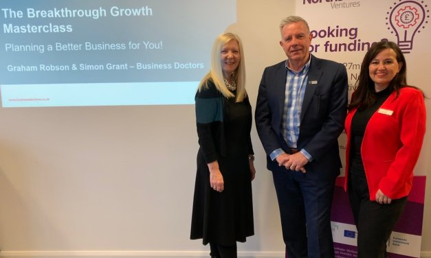 Business masterclasses just the medicine for new and growing companies