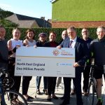 Housing association bosses get on their bikes to support launch of charitable foundation