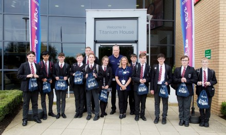 Manufacturing company welcomes hundreds of pupils at STEM event