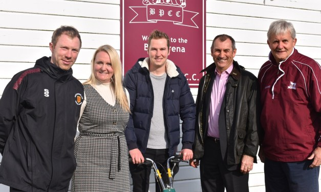 Community cricket club at the cutting edge after investment from Banks Mining