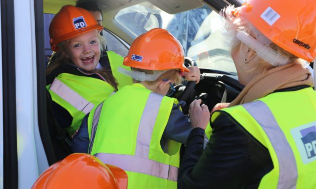 Schoolchildren given glimpse into working life at one of the UK's busiest ports
