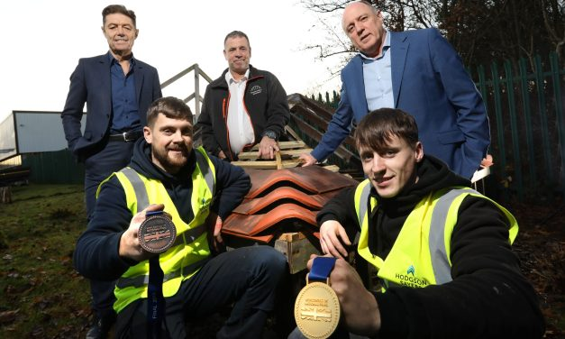 Hodgson Sayers apprentices take gold and bronze at prestigious national competition