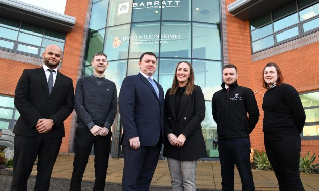 North East housebuilder announces several key appointments