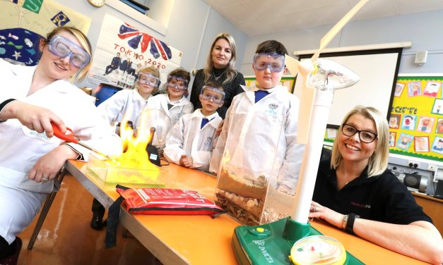 Pupils at Northumberland school learn more about renewable energy and £2bn North Sea project