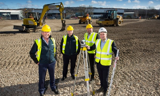 Work starts on new £3.5m engineering facility in Gateshead