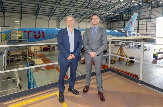 Cardiff Aviation Wins Repeat TUI Maintenance Contract