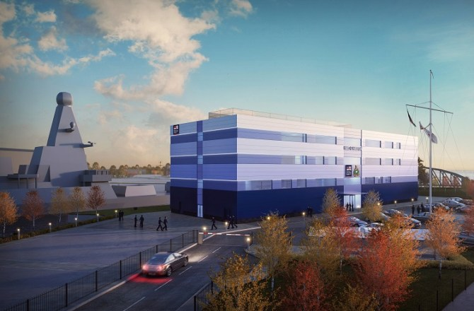 New Scheme Submitted for Royal Navy's Investment in Wales