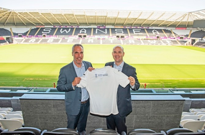 Swansea University First Official Club Partnership with Swansea City