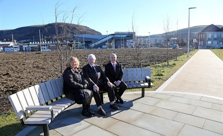 New Cycle and Pedestrian Link for Port Talbot Harbourside