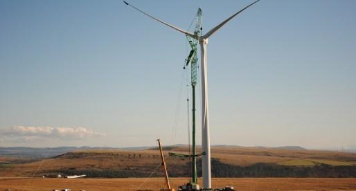 Mynydd y Gwair Wind Farm Starts Generating
