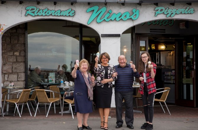 North Wales Ice-Cream Entrepreneur Expands Business with New Seaside Restaurant