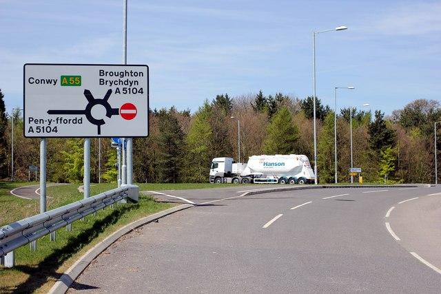 A5104 Road Safety Scheme Gets Underway