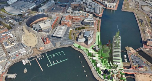Plans Launched for Dolffin Quay – a New Cardiff Bay Waterfront with Shops and Restaurants