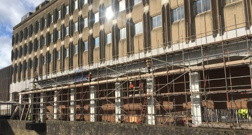 Construction Work on Port Talbot's Aberafan House Commences