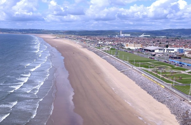 Visit Wales' Year of The Sea 2018 Launches Promotional Video for Aberavon Seafront