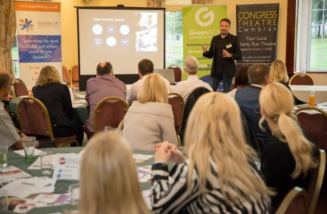 Successful Business Networking Event Takes Place in Torfaen