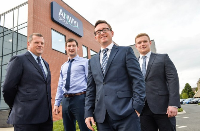 Flintshire's Anwyl Homes Appoints Four New Executives as it Aims for Growth