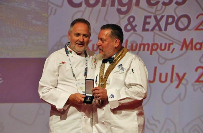 Welsh Chefs' Leader Awarded Prestigious Recognition