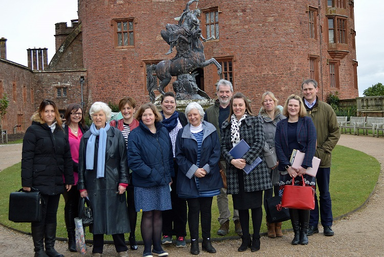 New Mid Wales Attractions Group Meets to Share Ideas