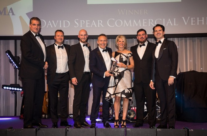 Commercial Vehicle Dealer David Spear Wins British Excellence in Sales Management Award