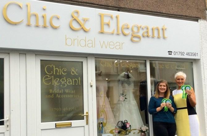 City Centre Bridal Firm Wins Swansea BID's Extra Mile Award