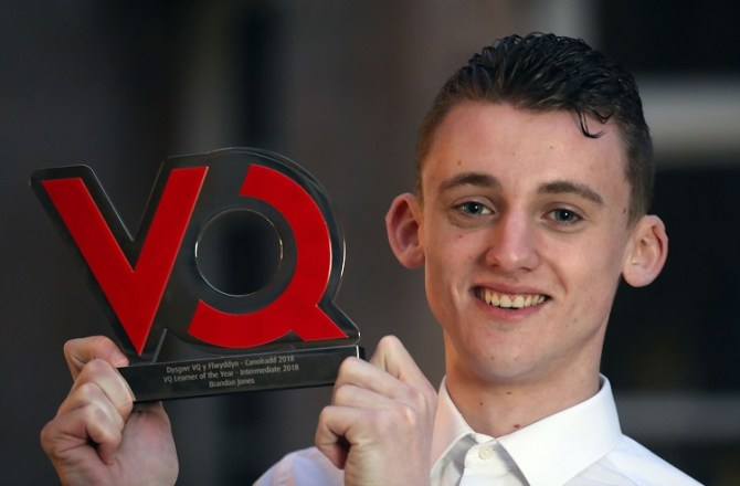 Merthyr Tydfil Engineering Graduate Named VQ Learner of the Year