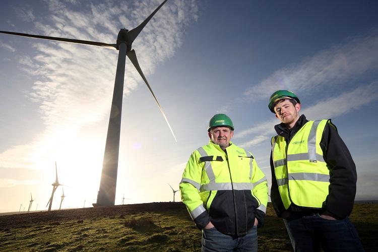 Work on Denbighshire Wind Farm Complete