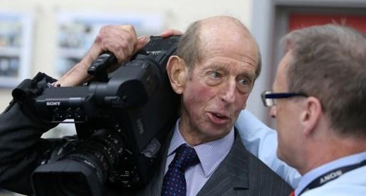 HRH The Duke of Kent visits Sony UK Technology Centre